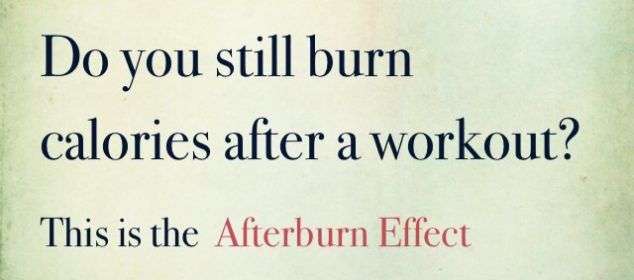 afterburn calories