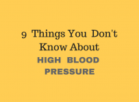 9 things high blood pressure
