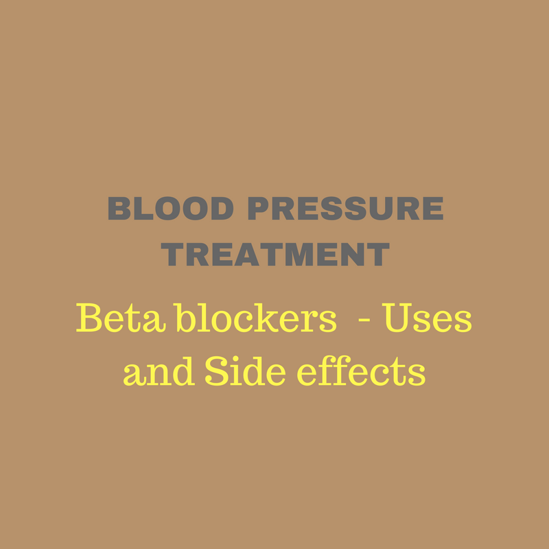 beta blockers blood pressure medications