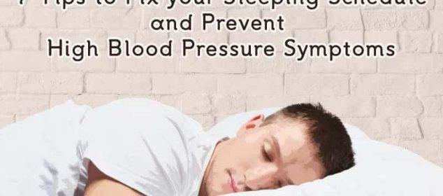 High blood pressure and sleep